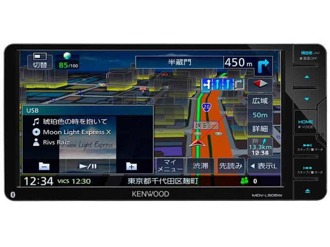 KENWOOD カーナビ 彩速ナビ MDV-L505W