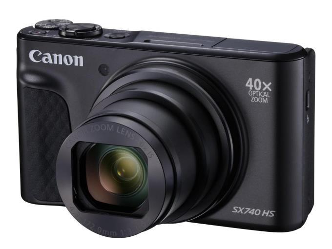 CANON デジタルカメラ PowerShot SX740 HS BK [ブラック]