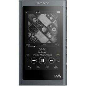 SONY デジタルオーディオプレーヤー NW-A55-B [16GB グレイッシュブラック]