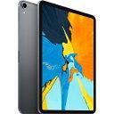 APPLE iPAD(Wi-Fiモデル) iPad Pro 11インチ Wi-Fi 512GB MTXT2J/A [スペースグレイ]