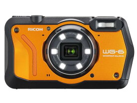 RICOH デジタルカメラ RICOH WG-6 [オレンジ]