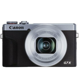 CANON デジタルカメラ PowerShot G7 X Mark III [シルバー]