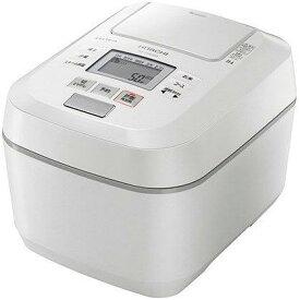 HITACHI 炊飯器 沸騰鉄釜 ふっくら御膳 RZ-V100DM(W) [パールホワイト]