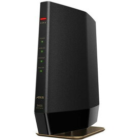 BUFFALO 無線LANルーター AirStation WSR-5400AX6-MB [マットブラック]