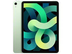 APPLE iPad Air 10.9インチ 第4世代 Wi-Fi 64GB 2020年秋モデル MYFR2J/A [グリーン]]【多少のシュリンク破れ、箱のへこみがある場合があります】