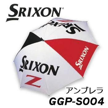 [NEW][晴雨兼用]ダンロップ スリクソン アンブレラ GGP-S004 ツアープロ使用モデル DUNLOP SRIXON 傘 ゴルフ パラソル カサ【KOBE】