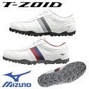 [NEW][幅広/EEEE]ミズノ ティーゾイドスパイクレス ゴルフシューズ 51GQ1685 MIZUNO T-ZOID ゴルフ 靴