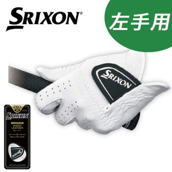 [2018 NEW]ダンロップ SRIXON スリクソン ゴルフグローブ 左手用 GGG-S022 プロシリーズ 天然皮革(羊革) メンズ対応 [メール便可能] DUNLOP 【ラッキーシール対応】
