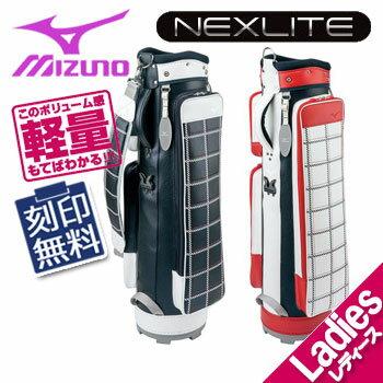 [NEW/2017]ミズノ ライトスタイル ネクスライト レディース スリム キャディバッグ 5LJC17W100 8.0型 1.8kg 46インチ対応 MIZUNO LIGHT STYLE NEXLITE WOMEN'S SLIM ゴルフ