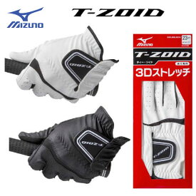 ミズノ ティーゾイド ゴルフグローブ(手袋) [左手(右利き用)] 5MJML604  (あて布付き)手袋 T-ZOID MIZUNO ゴルフ [メール便可能] 【ラッキーシール対応】