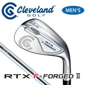 ダンロップ Cleveland クリーブランド RTX F-FORGED 2 ウェッジ グースネック 軟鉄鋳造 日本正規品  DUNLOP ゴルフ ウエッジ 【セール価格】