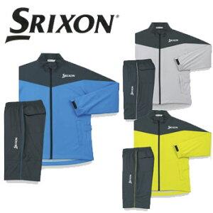 ダンロップ SRIXON スリクソン レインジャケット&パンツ SMR9000 レインウェア 耐久撥水 DUNLOP ゴルフ(メンズ) 【セール価格】