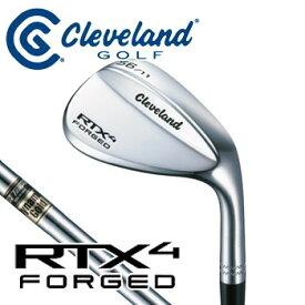 ダンロップ Cleveland クリーブランド RTX4 FORGED ウェッジ 軟鉄鋳造 ダイナミックゴールドシャフト DUNLOP ゴルフ ウエッジ 【セール価格】