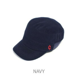 (clef)クレ RB3357 KNT RIB WORK CAP NVY