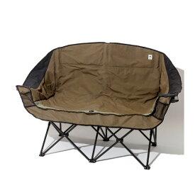 (grn outdoor)ジーアルエヌアウトドア フォールディングロングチェア (OLIVE) | ローチェア ツイン ソファ 椅子 イス フォールディング チェア ドリンクホルダー フェス たき火 焚き火 キャンパー キャンプ アウトドア おしゃれ