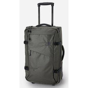 (karrimor)カリマー クラムシェル 40 ガンメタル | キャリーバッグ 軽量 スーツケース トローリーケース 大容量 キャンプ アウトドア ビジネス 旅行 トラベル 出張 おしゃれ