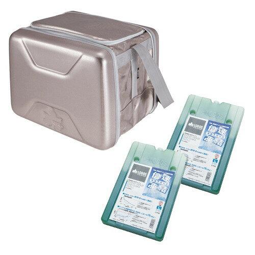 (LOGOS)ロゴス ハイパー氷点下クーラーL+倍速凍結・氷点下パックL×2個お買い得3点セット| クーラーボックス コンパクト 大容量 アウトドア アウトドア用品 アウトドアグッズ バーベキュー bbq 保冷剤 保冷ボックス クーラーバッグ クーラーバック 保冷バッグ 保冷バック