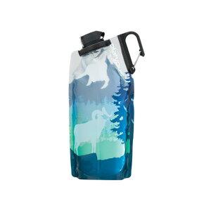 (platypus)プラティパス デュオロックソフトボトル 1L ビッグホーンブルー キャンプ用品 アウトドア 水筒 キャンプ マイボトル おしゃれ ボトル オシャレ 小物 登山 ハイキング トレッキング レ