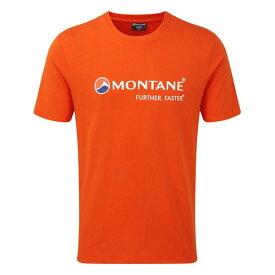 (Montane)モンテイン モンテインロゴTシャツ (ファイアーフライオレンジ)