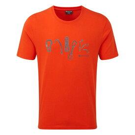 (Montane)モンテイン TOOLS Tシャツ (ファイアーフライオレンジ)