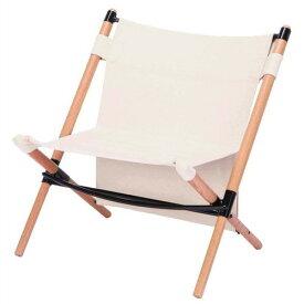 (HANGOUT)ハングアウト ポールローチェア ホワイト   ローチェア 折りたたみ コンパクト 収納 椅子 イス チェア フェス キャンプ アウトドア BBQ バーベキュー おしゃれ