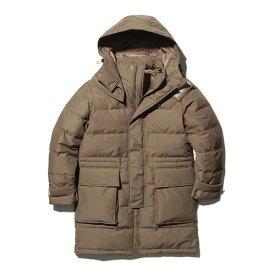 スノーピーク FR Down Coat Brown