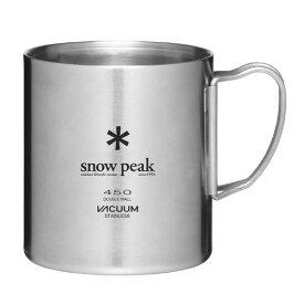 (snow peak)スノーピーク ステンレス真空マグ 450 | キャンプ用品 アウトドア用品 カップ コップ マグカップ 食器 保温 保冷 コーヒーカップ ステンレスマグ おしゃれ 小物 バーベキュー bbq コーヒーマグカップ 保温保冷 ソロキャンプ グランピング べランピング 登山