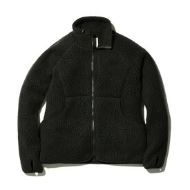 (snow peak)スノーピーク Classic Fleece Jacket Black