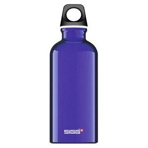 (SIGG)シグ トラベラー 0.4L ダークブルー | キャンプ用品 アウトドア 水筒 キャンプ マイボトル おしゃれ ボトル オシャレ 400ml 小物 登山 ハイキング トレッキング レジャー バーベキュー ピク