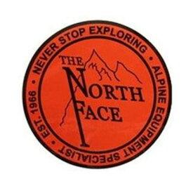 (THE NORTH FACE)ノースフェイス TNF プリントステッカー (OL) | ステッカー アウトドア ブランド かっこいい シール キャンプ おしゃれ