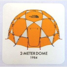 (THE NORTH FACE)ノースフェイス GEODESIC DOME STICKER (TM) | ステッカー アウトドア ブランド かっこいい シール キャンプ おしゃれ