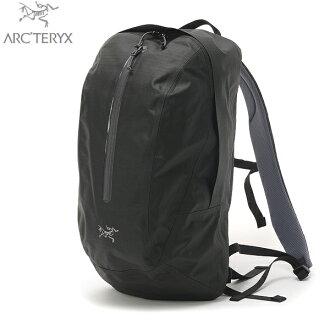 採用堅固防水面料輕弧 ' TERYX Arc'Teryx 應科院 19 背包黑色翻錄停止尼龍織物與聚氨酯塗層