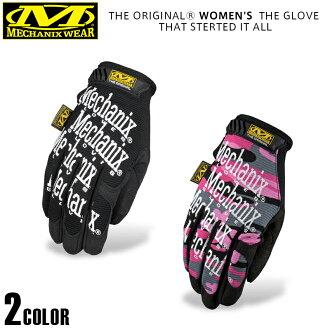 Mechanix 磨損機理穿原始婦女手套 (原女式手套) 的基本結構是格羅夫和夫人的規格作為設計模式