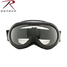 【店内20%OFFセール開催中】ROTHCO ロスコ 10379 TACTICAL GOGGLES - BLACK W/CLEAR LENS / 'CE' タクティカルゴーグル スポーツやアウトドア、シューティングなどに最適 軽くて丈夫なPC(ポリカーボネイド)レンズ《WIP03》