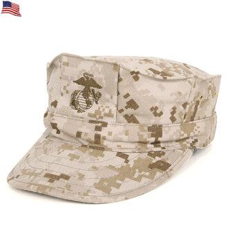 使前面的真正新的美國海軍陸戰隊 MARPAT 沙漠巡邏帽重織物被繡徽章為海軍陸戰隊男人和女人一樣,城市受歡迎的產品