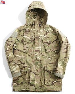功能夾克是從真正的新英軍防風作戰工作服 MTP (多地形模式) 英國海軍陸戰隊和 SAS 使用防水和溫暖