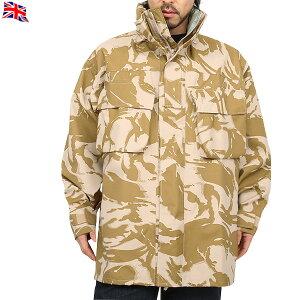実物 新品 イギリス軍MVP COMBAT ジャケット デザートDPMカモ 《WIP03》イギリス軍が誇る高性能衣料 英軍の規格で縫製やシームテープで 裏打ち処理され、防水性もバッチリ【クーポン対象外】【