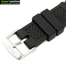 TRASER トレーサー ラバーストラップ 9031702 TRASER純正のラバーベルト ラバー素材で撥水性がありスポーツシーンなどにオススメ TYPE6、P6600に対応しています。《WIP03》【クーポン対象外】