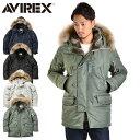 【予約販売】AVIREX アビレックス N-3B COMMERCIAL REAL FUR コマーシャル リアルファー N-3B フライトジャケット 6152145 メンズ ミリタリー アウター ミリタ