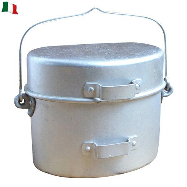 【実物25%OFFセール開催中】実物 イタリア軍 アルミ飯盒 【イタリア軍放出品】【アルミ飯盒】【ミリタリー】 【アウトドア】【飯ごう】【キャンプ】 【料理】【調理】《WIP03》