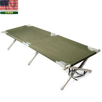 실제 미군 フォールディングコット (접이식 야 전 침대) 미국 육군 방출 품목 밀리터리 실물 방출 물 인테리어의 자의 자의 자 남자