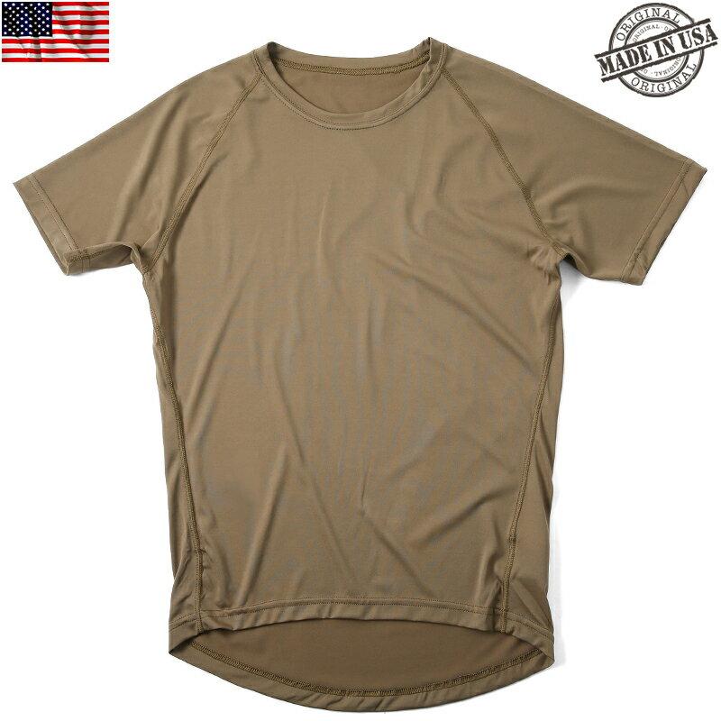 【実物25%OFFセール開催中】実物 新品 米軍PCU LEVEL1 Tシャツ COYOTE BROWN(ラグラン) 【アメリカ軍放出品】【ミリタリートップス】【高機能インナー】 【アウトドア】【キャンプ】【サバゲー】 【ラグラン Tシャツ】【メンズ】《WIP03》