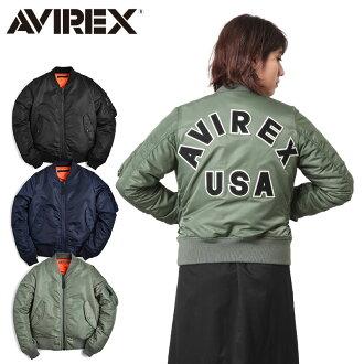 AVIREX-avirex 6252039 女士標誌馬 1 釐米飛行夾克