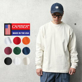 【18%OFFクーポン対象!】CAMBER キャンバー #305 8oz マックスウェイト 長袖Tシャツ MADE IN USA