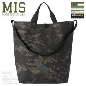 MIS エムアイエス MIS-C1010 CORDURA NYLON キャリングバッグ / ショルダーバッグ MADE IN USA - BLACK MULTI CAMO(クーポン対象外)
