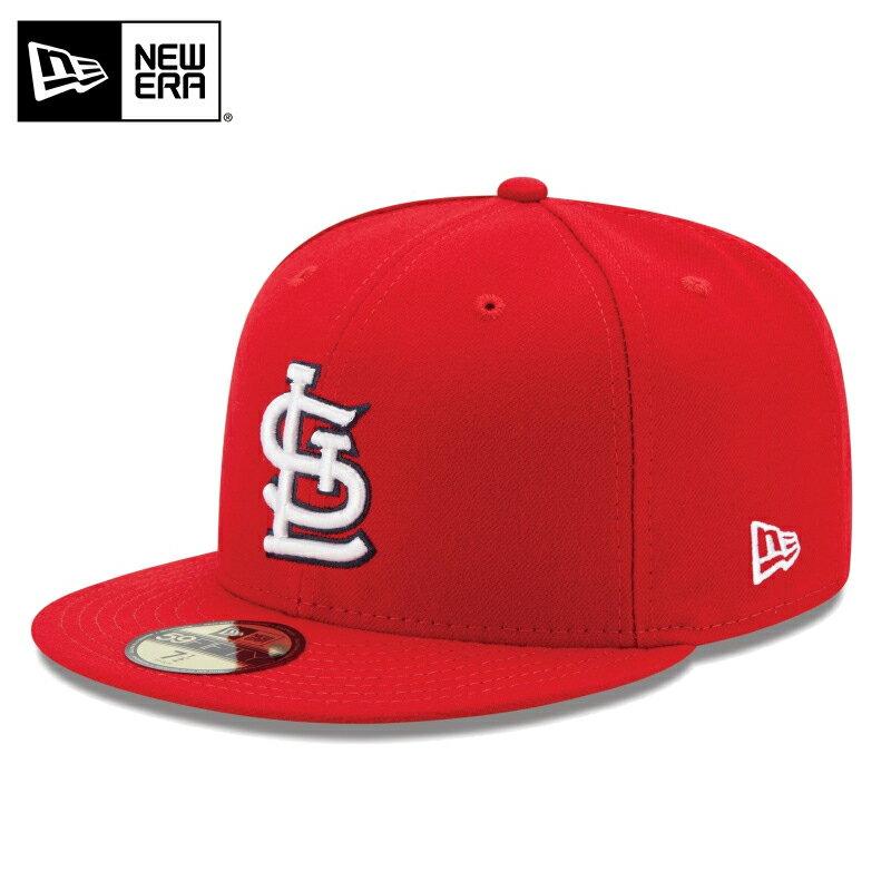 割引クーポン対象!◆【メーカー取次】 NEW ERA ニューエラ 59FIFTY MLB On-Field セントルイス・カージナルス レッド 11449337 キャップ