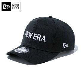 【店内20%OFFセール開催中】【メーカー取次】 NEW ERA ニューエラ 9FIFTY Stretch Snap NEW ERA ロゴ ブラックXホワイトロゴ 12051982 キャップ