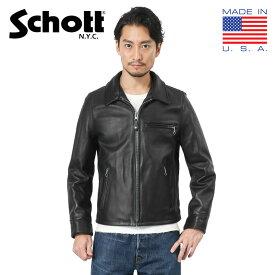 【ポイント10倍】Schott ショット 7209 103US レザートラッカージャケット(クーポン対象外)