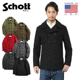 Schott ショット 7118 753US 日本別注 24oz スリムフィットピーコート(クーポン対象外)