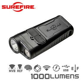 SUREFIRE シュアファイア GUARDIAN Dual-Beam Rechargeable Ultra-High LEDフラッシュライト / 1000ルーメン(DBR)【クーポン対象外】